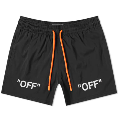 Off-White x Vilebrequin Arrows Moorise Swim Short