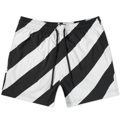 Off-White x Vilebrequin Striped Moorise Swim Short