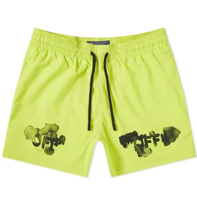 Off-White x Vilebrequin OFF Moorise Swim Short