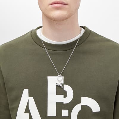 A.P.C. Dolphin Necklace