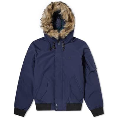 Polo Ralph Lauren Faux Fur Trim Down Jacket