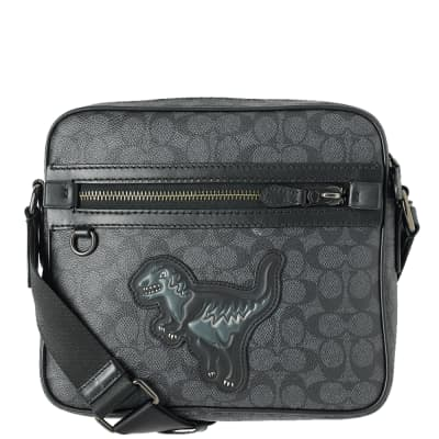 Coach Rexy Signature Dylan Mini Messenger Bag