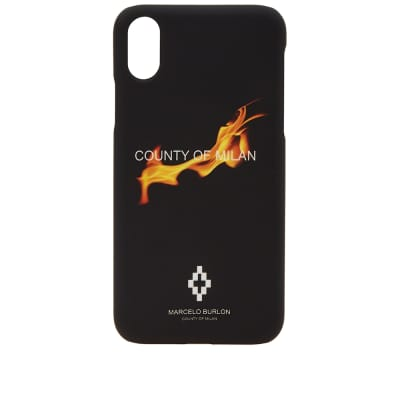 Marcelo Burlon Flame iPhone X Case