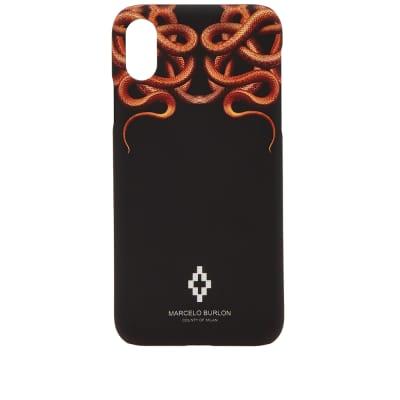 Marcelo Burlon Snakes iPhone X Case