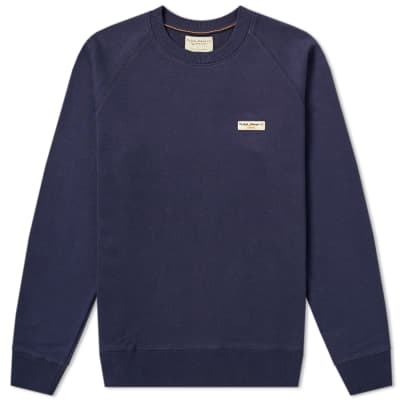 Nudie Samuel Logo Crew Sweat