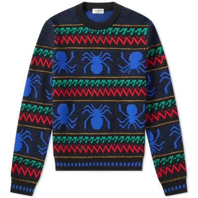 Saint Laurent Spider Crew Knit