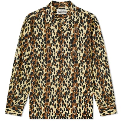 Wacko Maria Leopard Hawaiian Shirt