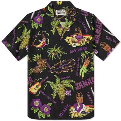 Wacko Maria Short Sleeve Jamaica Hawaiian Shirt