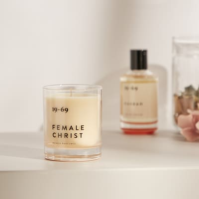 19-69 Female Christ Scented Candle