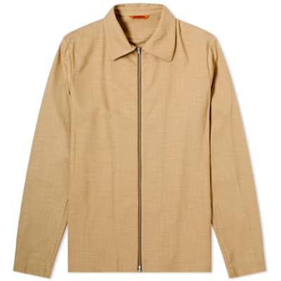 Barena Busson Zip Overshirt