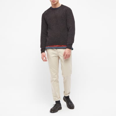 Norse Projects Birnir Brushed Lambswool Crew Knit