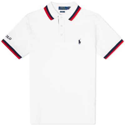 Polo Ralph Lauren Broad Tipped Collar Polo