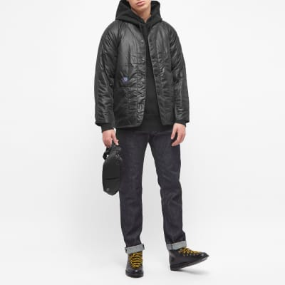 Post Overalls Padded Nylon Liner Jacket