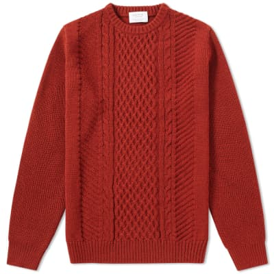 Edifice Cable Crew Knit