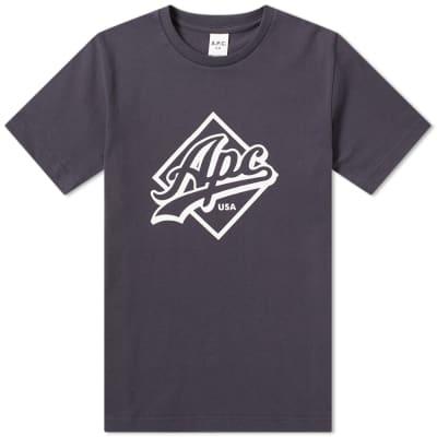 A.P.C. Tremaine Logo Tee