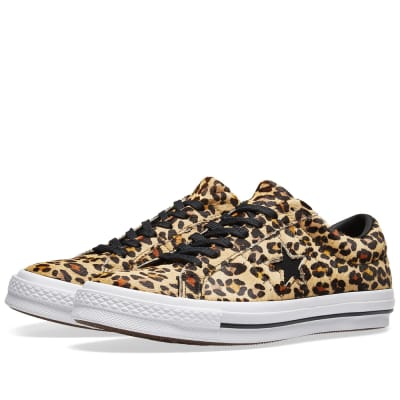Converse One Star Ox Cheetah