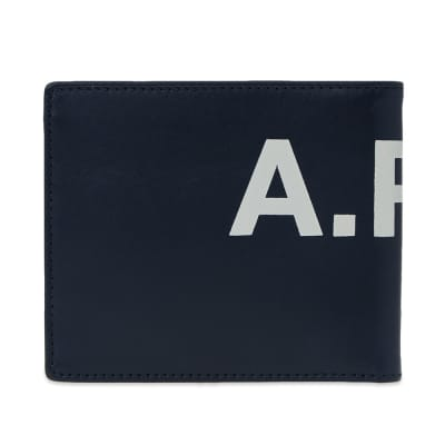 A.P.C. Aly Large Logo Wallet