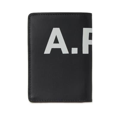 A.P.C. Stefan Logo Fold Cardholder