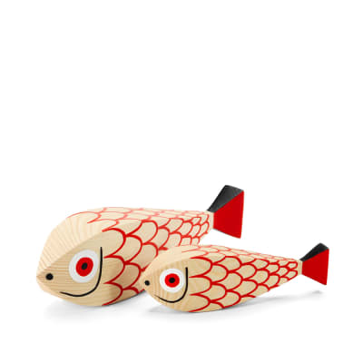 Vitra Alexander Girard 1952 Wooden Doll Fish