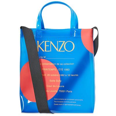 Kenzo PVC Polka Dot Tote Bag