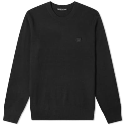 Acne Studios Nalon Face Crew Knit