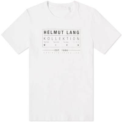 Helmut Lang Kollection 1986 Patch Print Tee