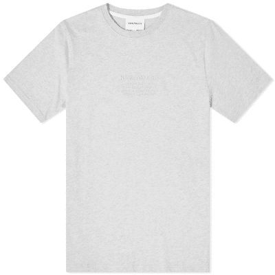 Norse Projects Embroidered Niels Logo Tee