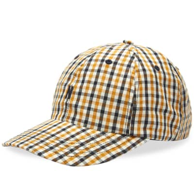 Norse Projects Gingham Sports N Logo Cap