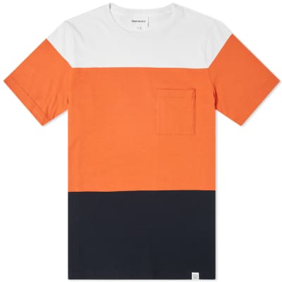 Norse Projects Niels Colour Block Tee