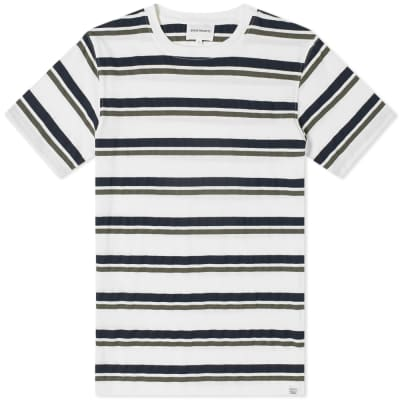 Norse Projects Niels Pique Stripe Tee