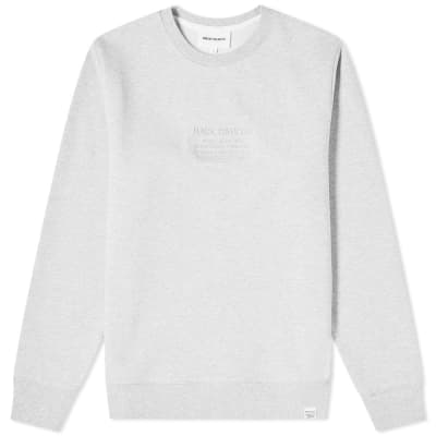 Norse Projects Vagn Embroidered Logo Sweat