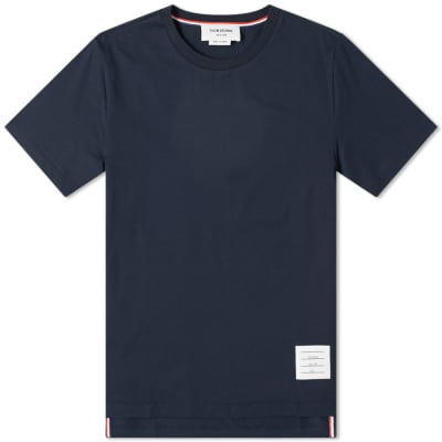 Thom Browne Side Split Classic Tee
