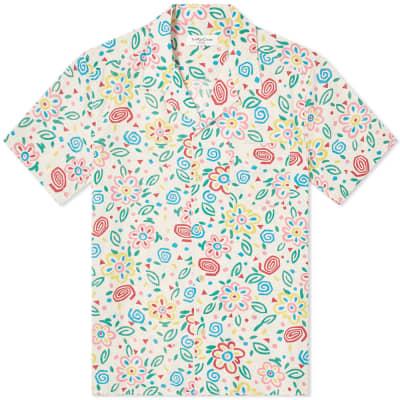 YMC Floral Vacation Shirt