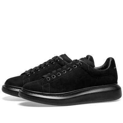 Alexander McQueen Tonal Suede Wedge Sole Sneaker