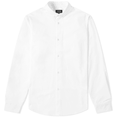 A.P.C. Button Down Oxford Shirt