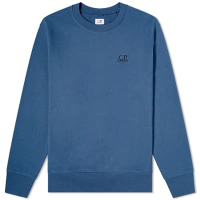 C.P. Company Embroidered Logo Sweat