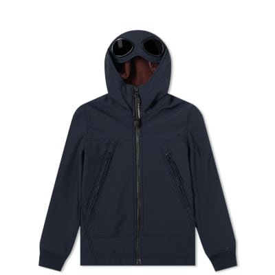 C.P. Company Undersixteen Goggle Hooded Zip Shell Jacket