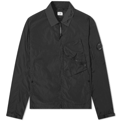 C.P. Company Arm Lens Chrome Nylon Shirt Jacket