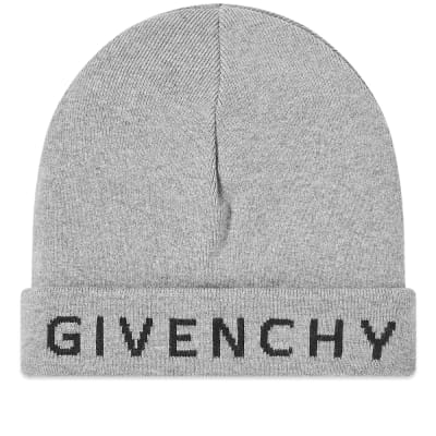 Givenchy Text Logo Beanie