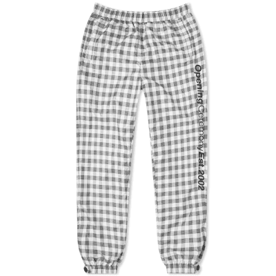 Opening Ceremony Plaid Nylon Jog Pant