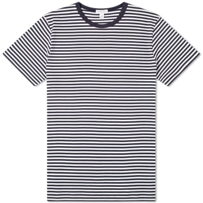Sunspel Classic English Stripe Tee