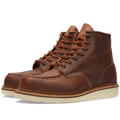 """Red Wing 1907 Heritage Work 6"""" Moc Toe Boot"""