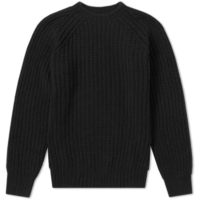 Officine Generale Ribbed Crew Knit