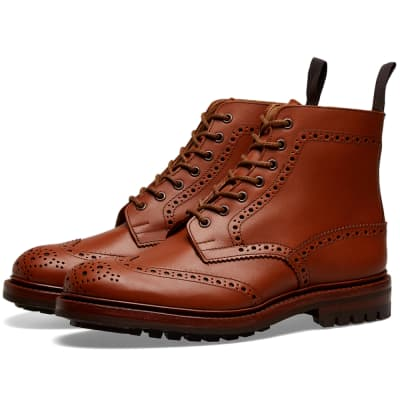 Tricker's Malton Commando Brogue Boot
