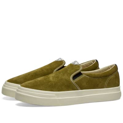 Stepney Workers Club Lister Suede Slip On