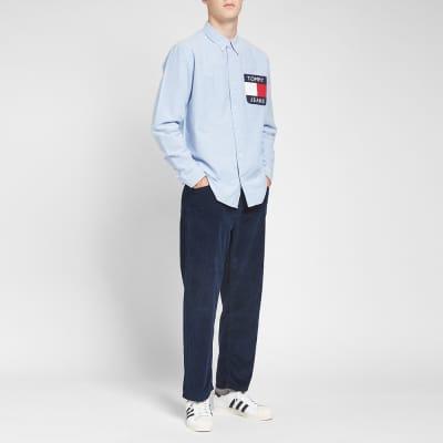 Tommy Jeans Flag Denim Shirt