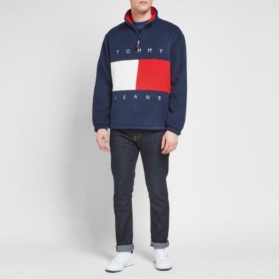 Tommy Jeans Flag Polar Fleece Jacket