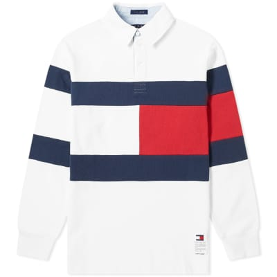 Tommy Jeans Flag Rugby Shirt