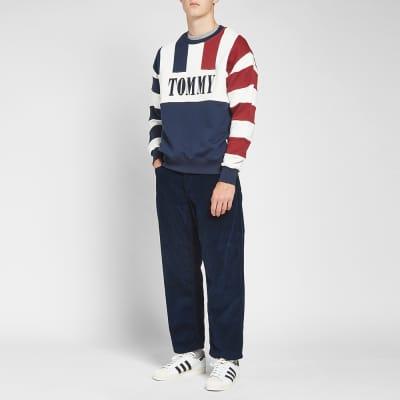 Tommy Jeans Heritage Stripe Crew Sweat