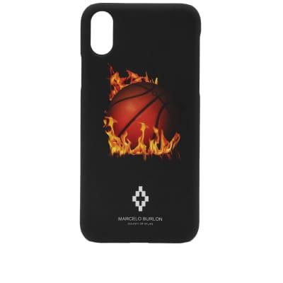 Marcelo Burlon Fireball iPhone X Case